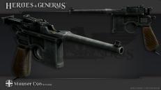 HandG_Renders_German_Mauser_C96